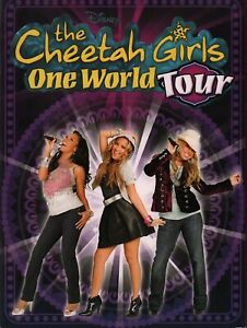CHEETAH-GIRLS-2008-ONE-WORLD-TOUR-CONCERT-PROGRAM-BOOK-BOOKLET-NMT-2-MINT