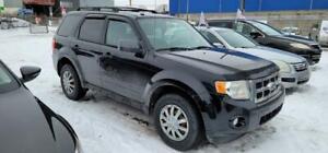 2010 Ford Escape 4X4 4 CYL XLT GARANTIE 1 ANS