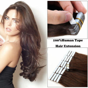 20-60Ps-Tape-in-Remy-Human-Hair-Extensions-Virgin-Ombre-PU-Skin-Weft-Full-Head