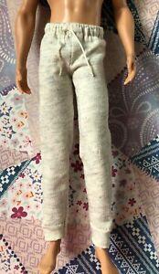 Ken-Doll-Cream-Sweatpants-Lounge-Pants-Barbie-Clothes-Fashionista-Bottoms