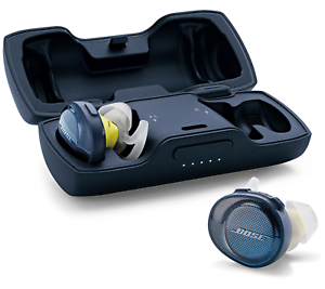Bose SoundSport Free True Wireless Headphones Earbuds with Charging Case + Cable