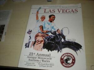 Mid America Motorcycle Auctions Catalog Las Vegas 21st Annual 2012 Ebay