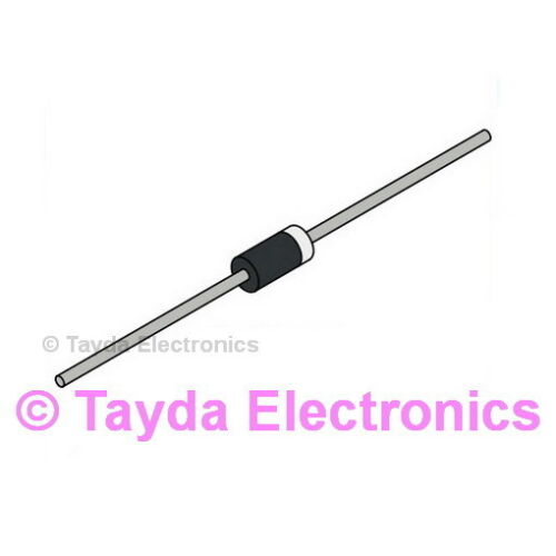 FREE SHIPPING 50 x 1N4937 FAST RECOVERY DIODE 1A 600V