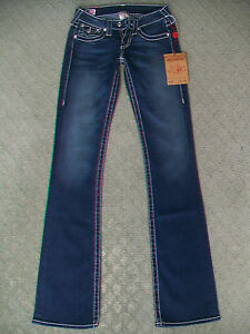 TRUE-RELIGION-039-DISCO-BECKY-BIG-T-039-STRETCH-JEANS-WMN-BNWT-SIZE-6