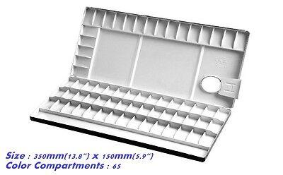Heungil Palettes Aluminum Watercolor Palette 13/20/26/30/35/39/65 Compartments