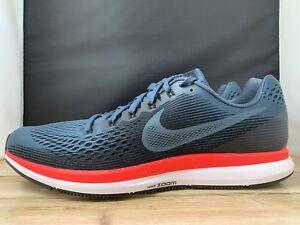 e930d7f7af2e5 Nike Air Zoom Pegasus 34 Running Shoes Blue Fox Black Crimson 880555 ...