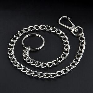 Rock-Extra-Metal-Keyring-Key-Wallet-Belt-Ring-Clip-Jean-Trucker-Waist-Chain