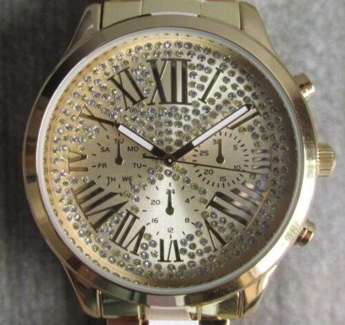 Impressionen Coco Milano Damen Armbanduhr goldfarben SALE neu