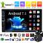 Quad-Core-Android-7-1-WIFI-7-034-2DIN-Radio-De-Coche-Estereo-MP5-GPS-Player-Camara miniatura 1