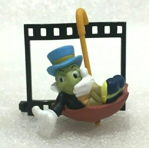 Disney Theme Park Tagalongs Pinocchio Jiminy Cricket PVC Figurine Figure
