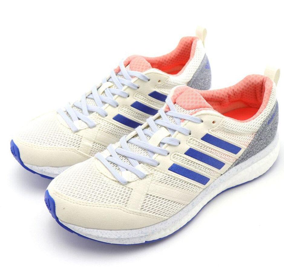 Womens ADIDAS Sneakers ADIZERO TEMPO 9 White orange Running shoes ADIDAS CP9498
