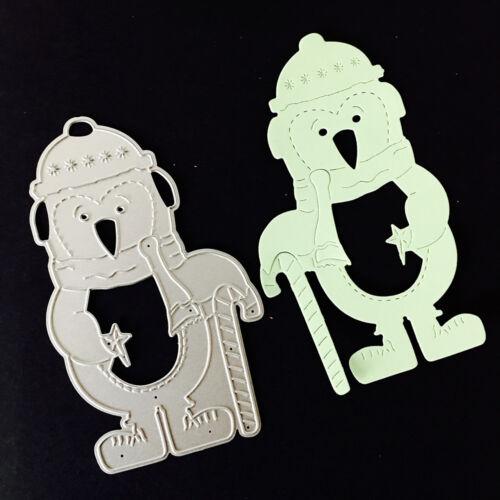 Animal Metal DIY Cutting Dies Stencil Scrapbook Album Paper Card Embossing Craft