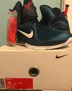 sports shoes df32e b9cb1 Details about Nike Lebron 9 Swingman Size 10