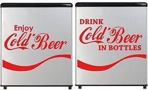 Cold-Beer-Decal-Concession-Refrigerator-Bumper-Sticker-Drink-Coca-Cola-Style