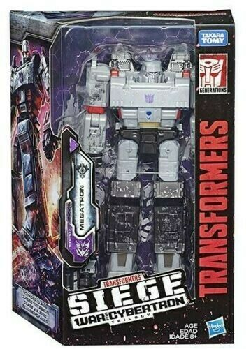 Transformers Generations War for Cybertron Siege Voyager Megatron Hasbro