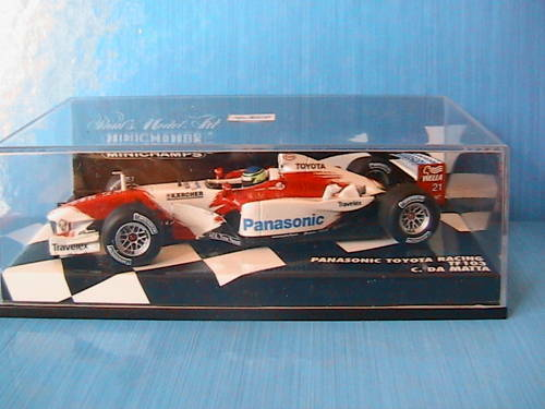 PANASONIC TOYOTA RACING TF103  21 DE MATTA 2003 MINICHAMPS 400 030021 1 43 F1