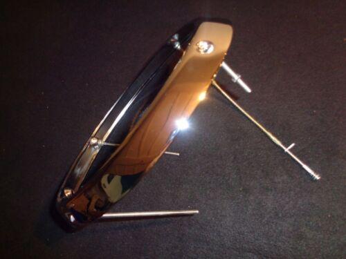 Euri Scheinwerfer Chrom Ring H1 passend für Porsche 911 912 N E U