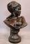 Sculpture-BUSTE-ORIENTALISTE-Bedouine-signe-THIELE-Rudolf-1856-1930-H-72-5-cm miniature 1