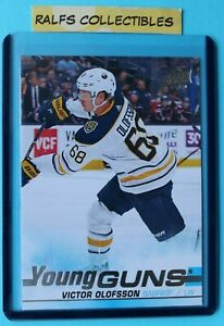 2019-20-Upper-Deck-Young-Guns-Rookie-Card-Victor-Olofsson-207-Buffalo-Sabres