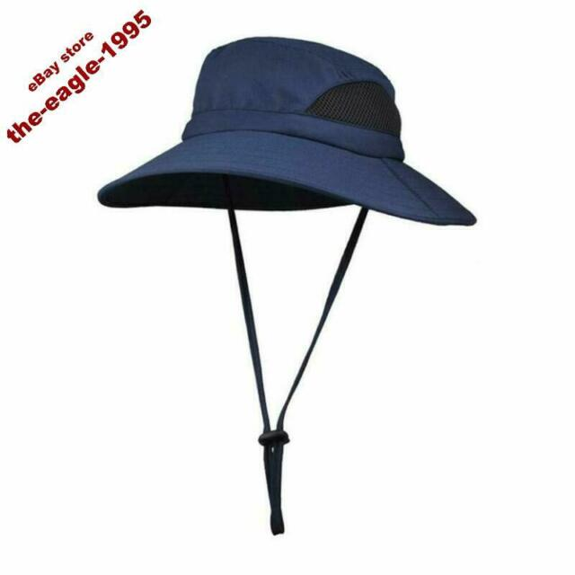 HDE Bucket Hat Wide Brim Boonie Outdoor Sun Hats Olive, Large