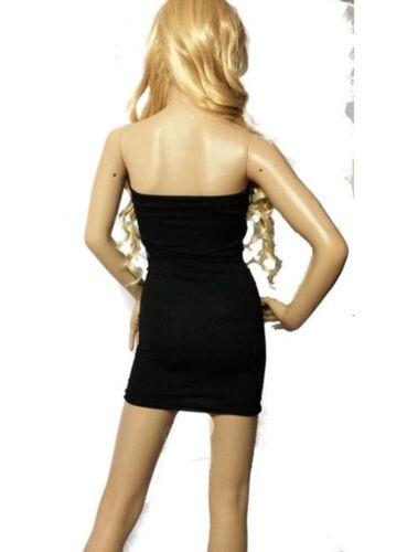 F.Girth Bandeau-Stretch-Kleid schwarz F.Girth