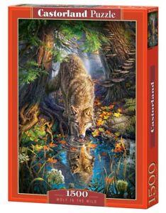 Castorland C-151707-2 - Wolf In The Wild, Puzzle 1500 Teile - Neu