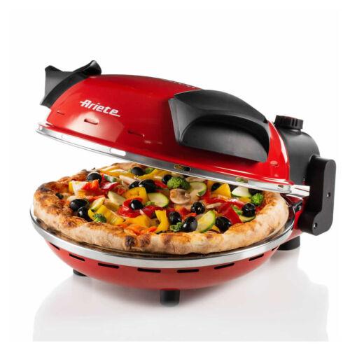 ARIETE 0909 Forno Cuoci Pizza in 4 MinutiFornetto Pietra Refrattaria Ø33cm