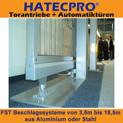 Bodenf/ührung f/ür profile 70x70mm Laufwerk freitragend Schiebetor ECO