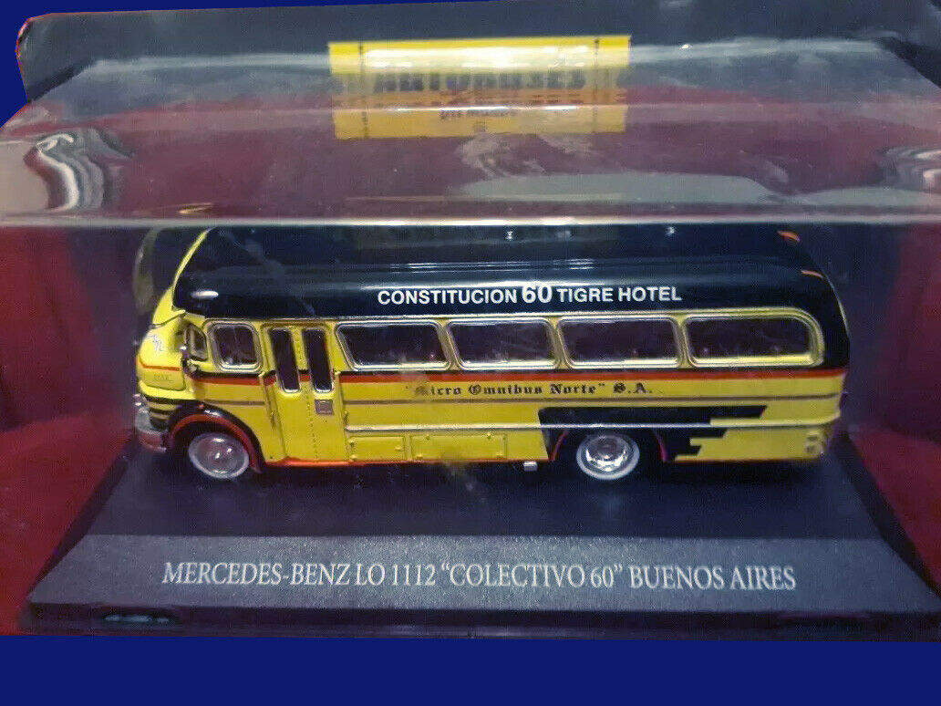 MERCEDES BENZ LO 1112  Colectivo 60  SilberINA - BUSES OF THE WORLD