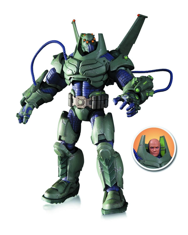 DC Comics Super Villains Armored Suit Lex Luthor Deluxe Action Figure