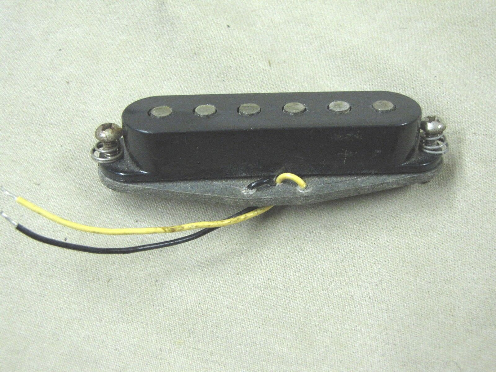 1980 Fender Statocaster Pickup and Cover Original