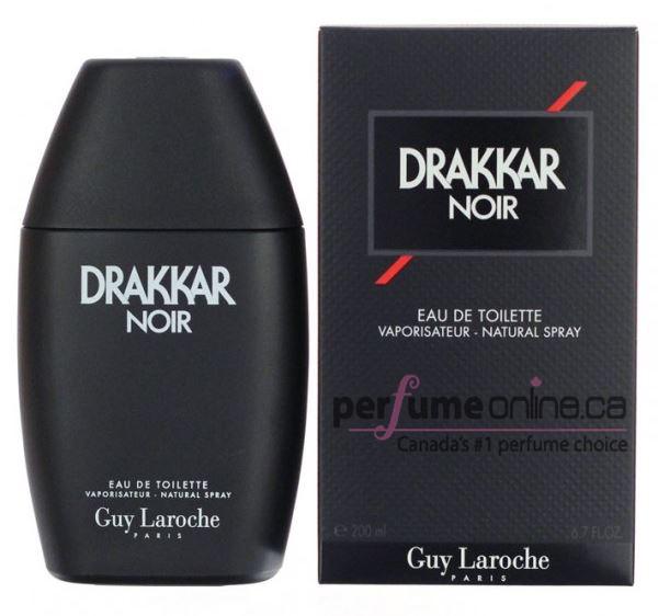 DRAKKAR NOIR 200ML EDT MEN BRAND NEW SEALED IN BOX