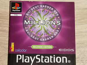 NOTICE-MANUAL-ONLY-QUI-VEUT-GAGNER-DES-MILLIONS-SECONDE-SONY-PLAYSTATION-1-PS1
