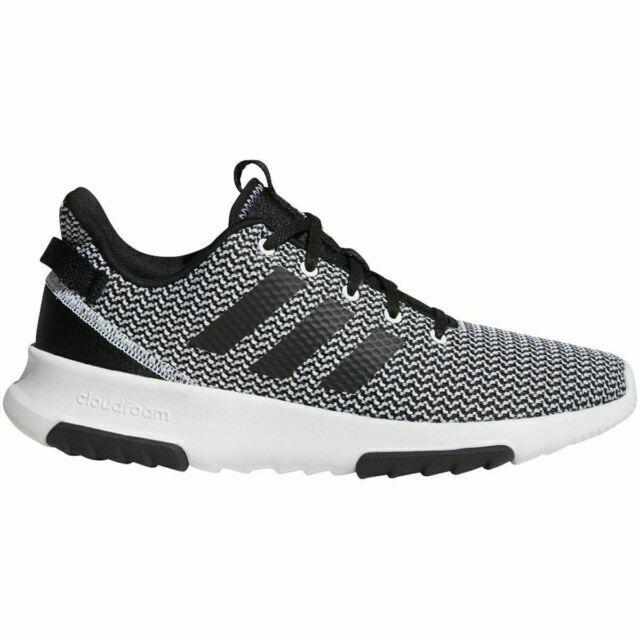 Size 10.5 - adidas Cloudfoam Racer TR Black White