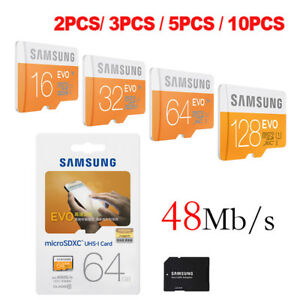 Bundle-sale-S-EVO-TF-Flash-MicroSD-Memory-Card-16GB-32GB-64GB-C10-3-5-10-PCS