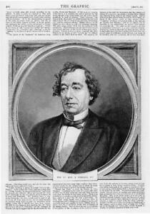 1872-Antique-Print-Portraits-Benjamin-Disraeli-268