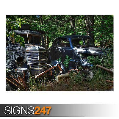 Bello Lucky Trova (aa966) Classic Auto Poster-foto Immagine Stampa Poster Art A0 A A4-