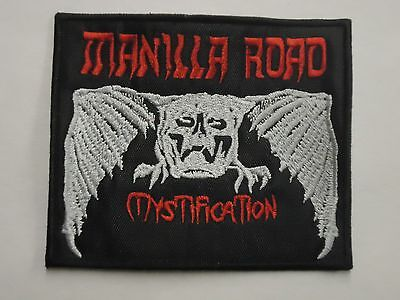 MANILLA ROAD MYSTIFICATION EMBROIDERED PATCH