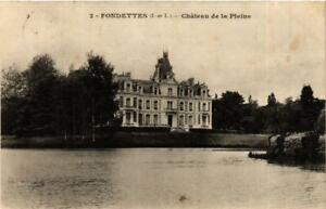 CPA-Fondettes-Chateau-de-la-Plaine-611635