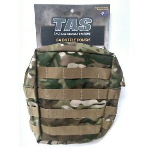 TAS Multicam Canteen MOLLE Pouch Double Waterproof Coat Fit Kidney Cup Stove