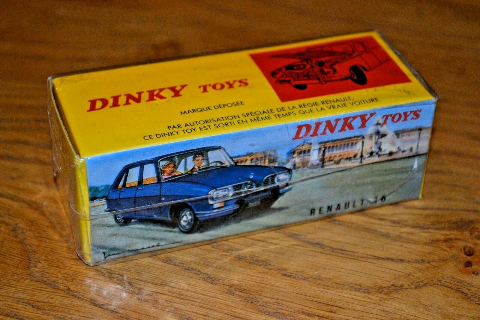 French Dinky Toys Atlas Edition Diecast Renault 16; No. 537 New Unopened
