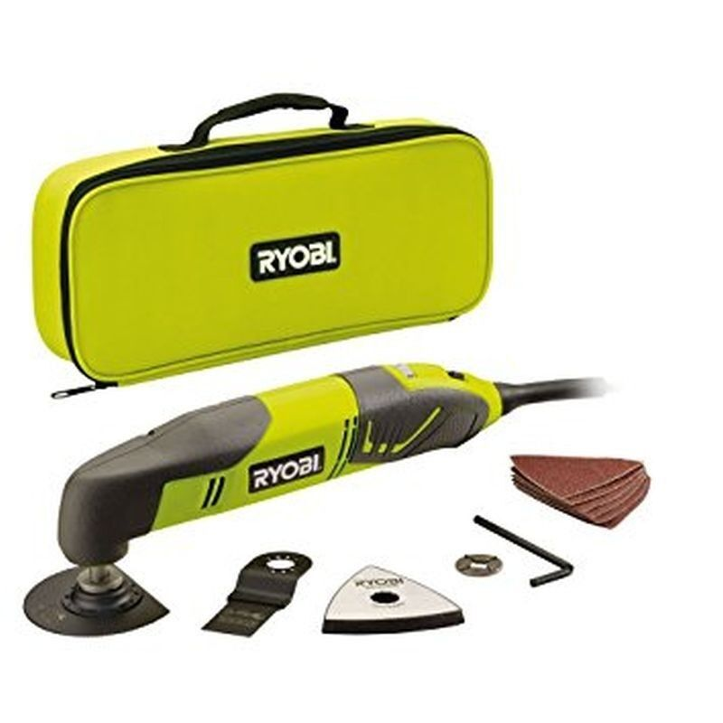 NEW  RYOBI 230V 200W CORDED MULTI TOOL RMT200 with accessories  CHEAPEST   3