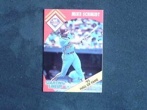 1990 Kenner Starting Line Up Mike Schmidt Philadelphia Phillies SLU Card only