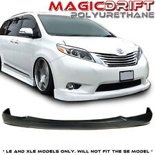 11-16 Toyota Sienna XLE CityKruiser CK Style JDM VIP Front Bumper Lip Urethane