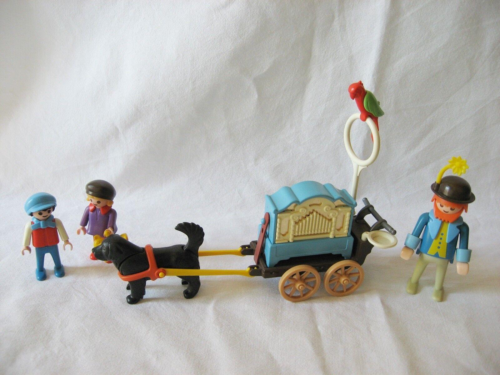 Drehorgel-Spieler 5550 Playmobil Nostalgie 5505 Rosa Serie Puppenhaus 1990
