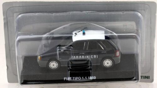 Fiat typo carabineros policía 1988 1:43 maqueta de coche