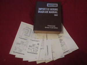 1992 infiniti q45 wiring diagrams schematics set ebay rh ebay co uk