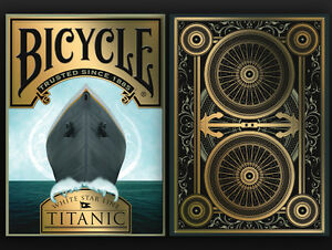CARTE DA GIOCO BICYCLE TITANIC LIFE edition,poker size