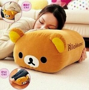 FD4725-San-X-Rilakkuma-Bear-Multi-Purpose-Big-Stuffed-Plush-Pillow-Cushion-1pc
