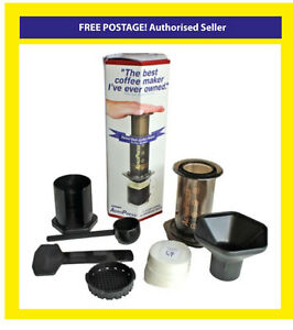 Aerobie Aeropress Coffee Maker Filters : Latest Design Aerobie Aeropress Model Coffee and Espresso Maker with 350 Filters 85276000800 eBay